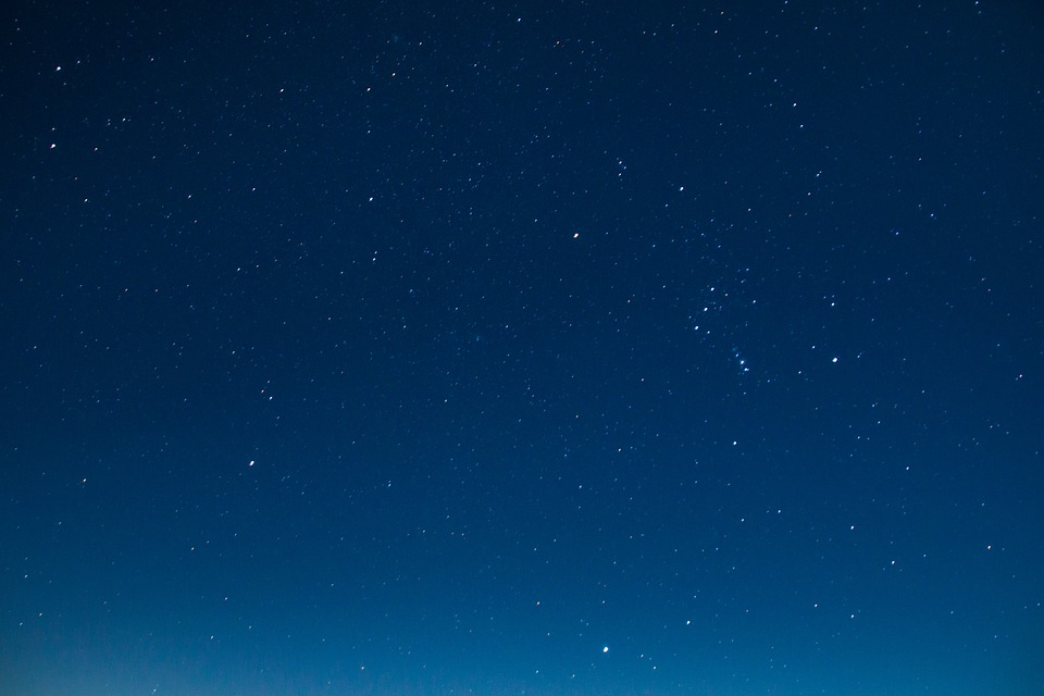 Free photo: Starry Sky, Star, Long Exposure