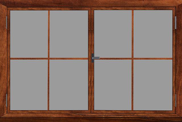 Free Illustration Window Window Frames Glass Frame