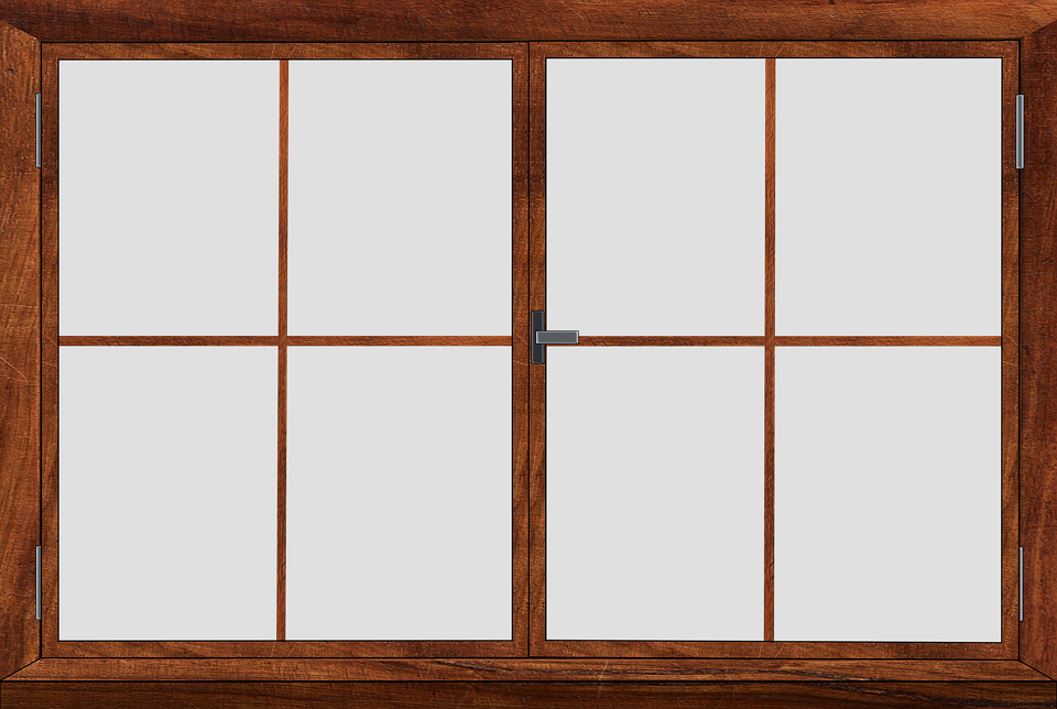 Free illustration window window frames glass frame for Wooden window design with glass