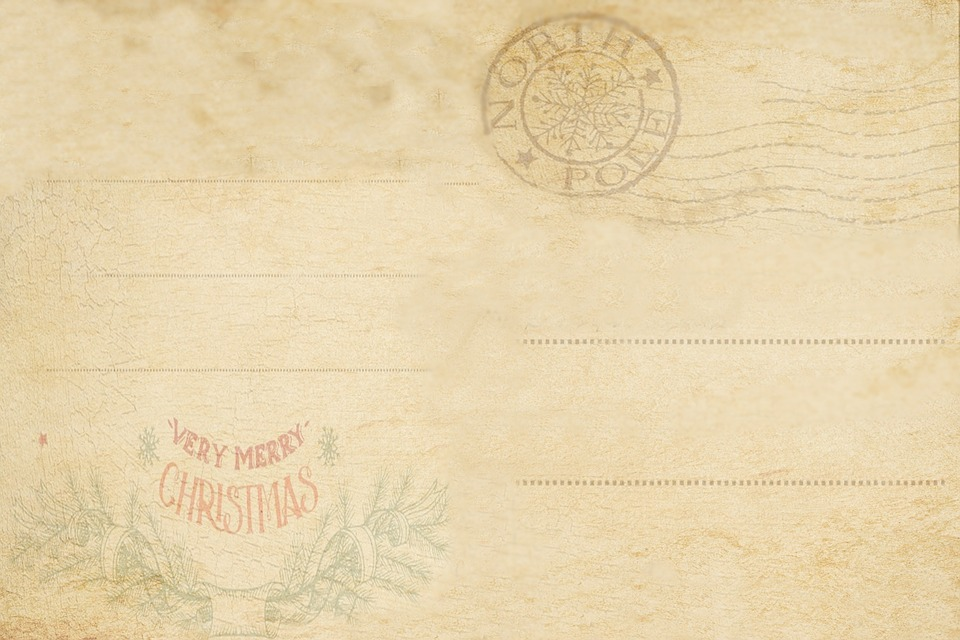christmas letter template free
