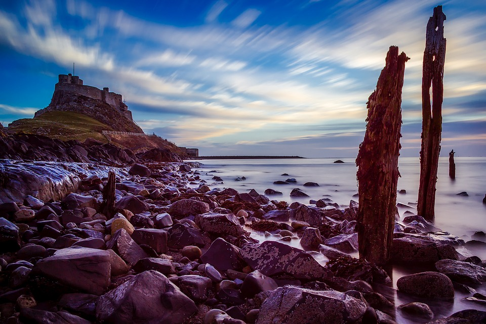 Holy Island, Berwick-Upon-Tweed, England, Great Britain