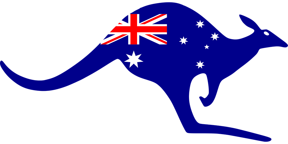 Australia kangaroo symbol · free vector graphic on pixabay