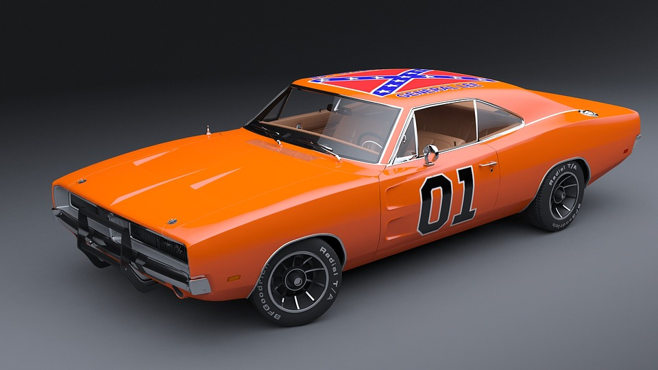 dodge charger general lee muscle foto gratis en pixabay. Black Bedroom Furniture Sets. Home Design Ideas