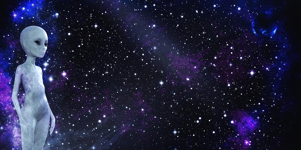 外星人, 空间, 行星, 宇宙