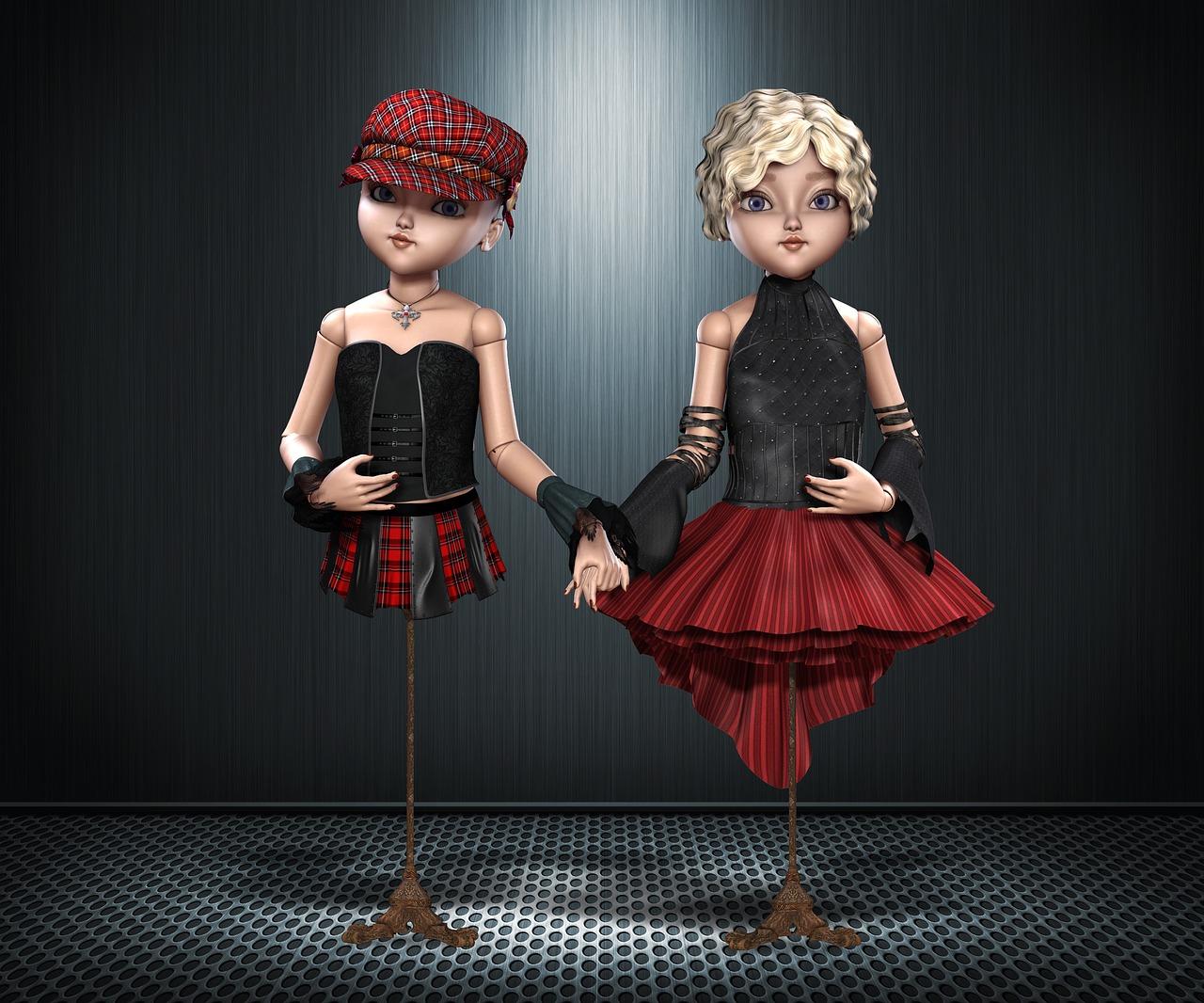 Манекен куклы картинки