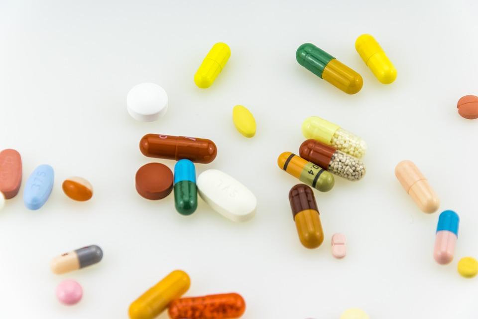 医療, 分離されました, 医薬品, 薬局, カプセル, ピル, 健康, 白, ビタミン, タブレット, 背景
