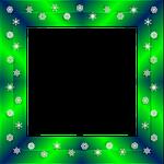 christmas, emerald, green