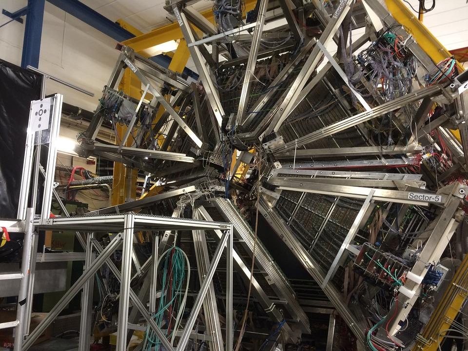 Teilchenbeschleuniger, Gsi, Quantenphysik, Darmstadt