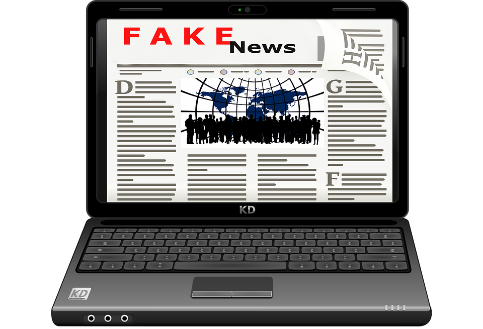 Fake, Fake News, Media, Laptop, Internet, Computer