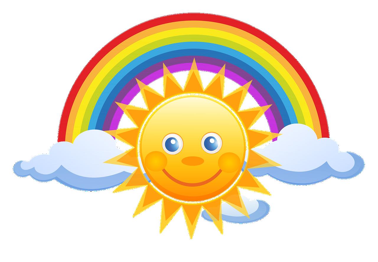 Słoneczko Słonko Chmurki - Darmowy obraz na Pixabay