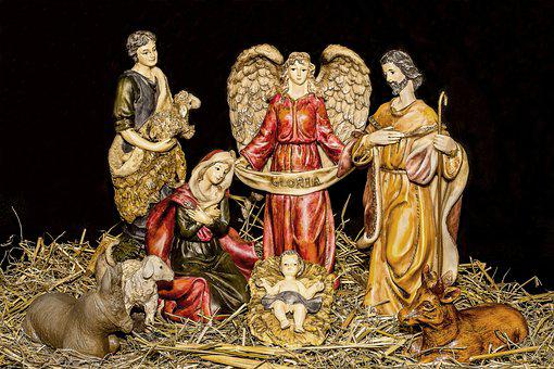 Christmas Crib Figures, Jesus Child