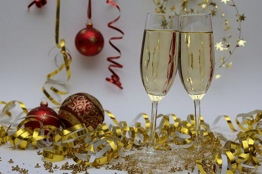 New Year'S Eve, Christmas party, Christmas drinks