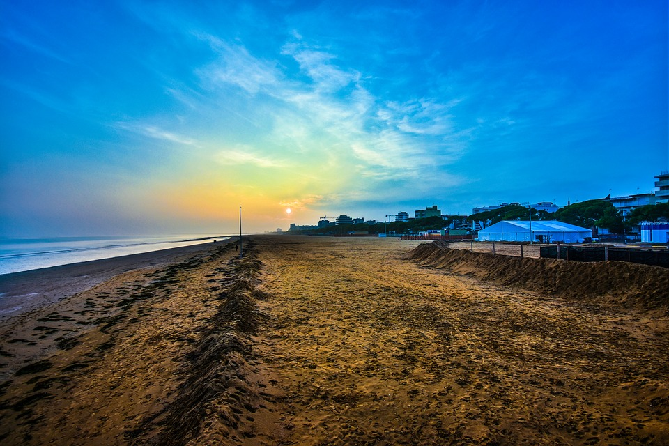 Lignano Strand Hav Gratis Foto Pa Pixabay