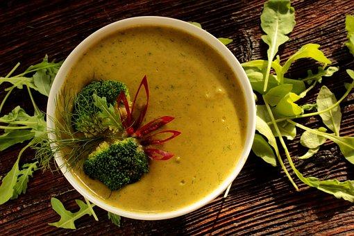 Zupa Dieta Odżywianie Posiłek Zdrowa Dieta