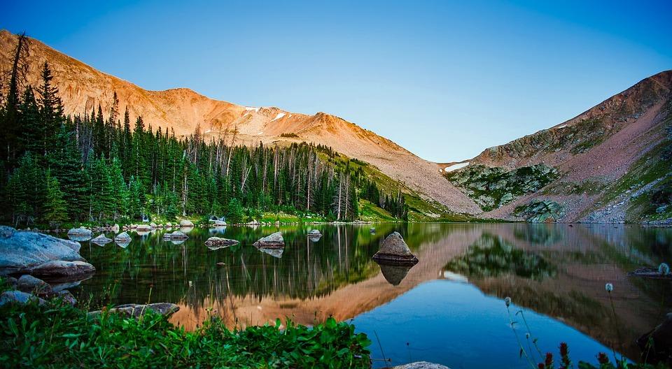 kelly lake california landscape free photo on pixabay