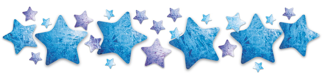 Stars Star Shimmer Blue Ice Cold Winter Fr
