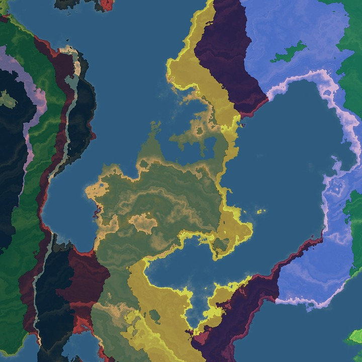 Free Illustration Map Geography World Travel Free Image On - World map geography