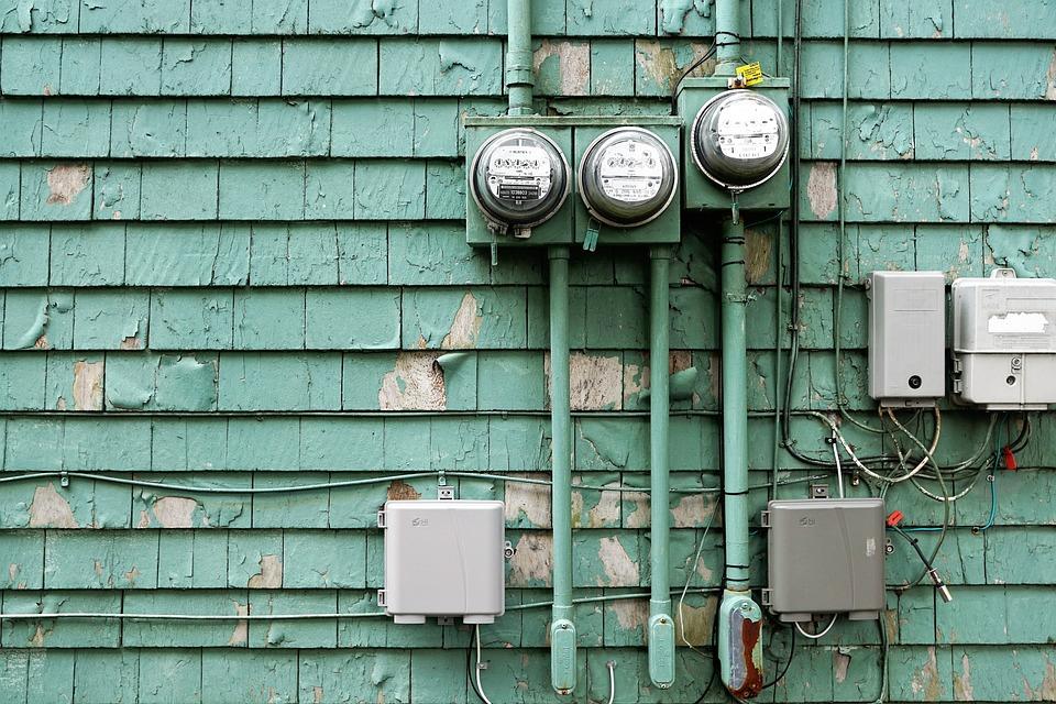 Nice Strom Leitung Haus Elektrizität Energie Leitungen