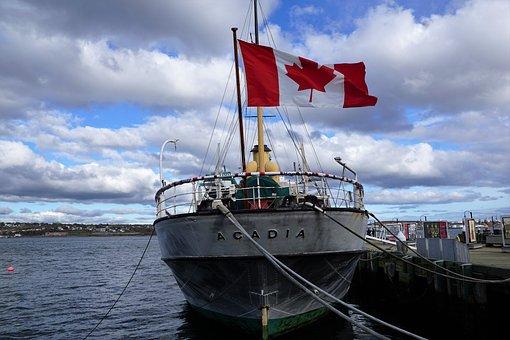 BÃ¥t, Kanada, Flagg, Halifax, Segel