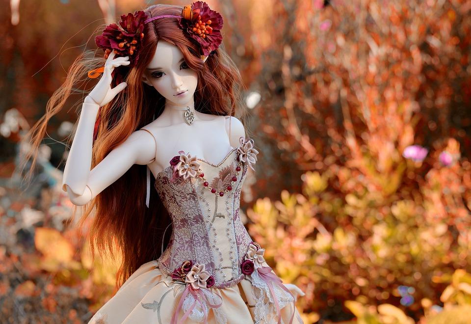 Puppe Kleid Farben Kostenloses Foto Auf Pixabay