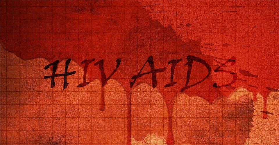 Hiv, Aids, Virüs, Hastalığı, Kanlı, Sağlık, Red, Sembol