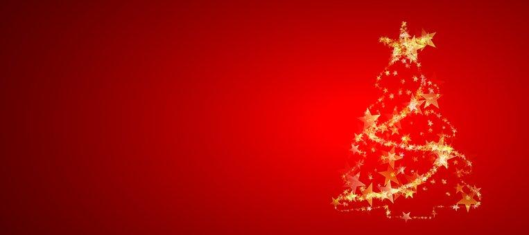 Christmas, Christmas Tree, Abstract