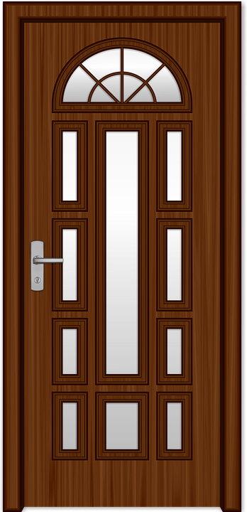 Free illustration: The Door, Wood, Castle, Flowers - Free Image on ...