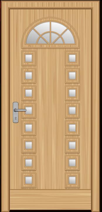 la puerta madera castillo flores manija de puerta
