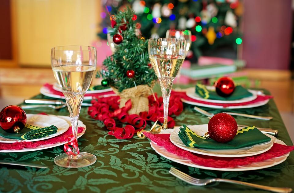 Elegantní vánoční ubrus