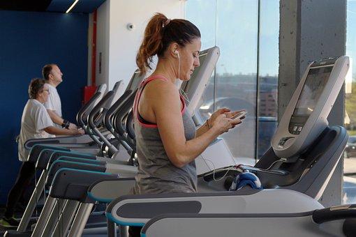 Fitness Exercise Sport Cardio Silhouette E