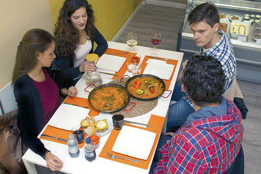 Paella Food Restaurant Franchise Rice Vale