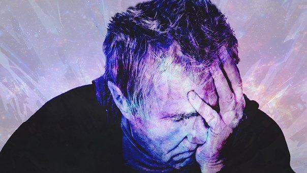 頭痛の種, 頭の痛み, 痛み, 頭, ストレス, 疲れて, 問題