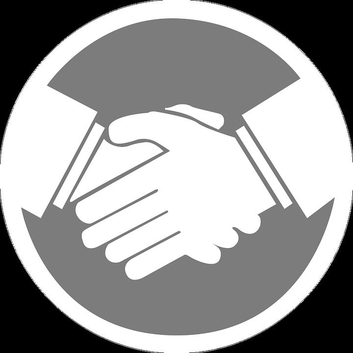 Free Illustration Handshake Business Deal Vector