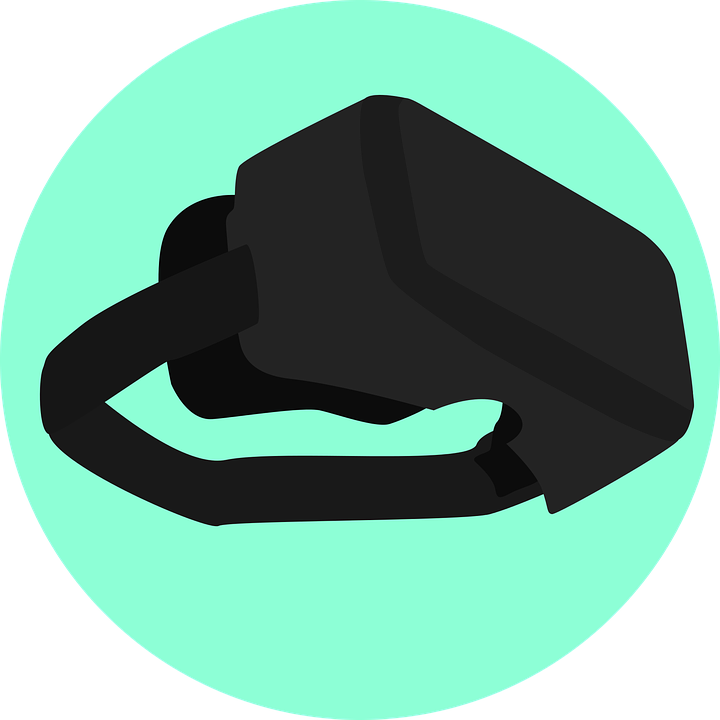 Vr Virtual Reality Simulation 183 Free Vector Graphic On Pixabay