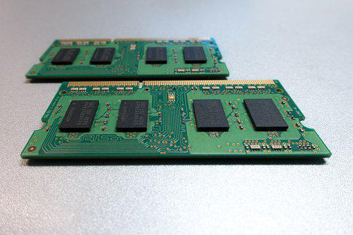 Printed Circuit Board Memory Green Fu