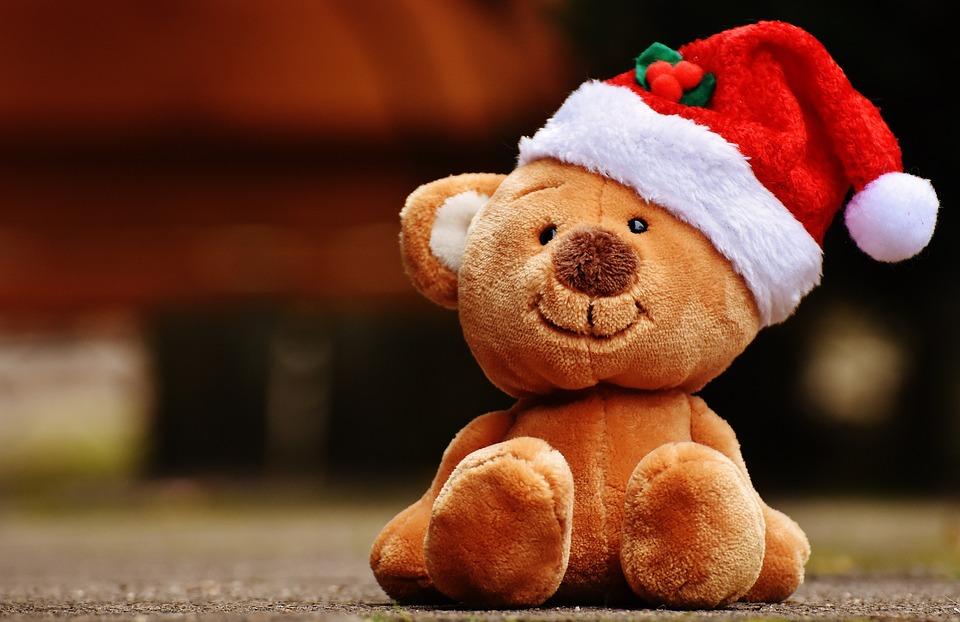 Teddy Weihnachten.Weihnachten Teddy Plüschtier Kostenloses Foto Auf Pixabay