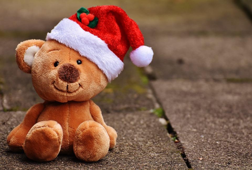Teddy Weihnachten.Christmas Teddy Soft Toy Santa Free Photo On Pixabay