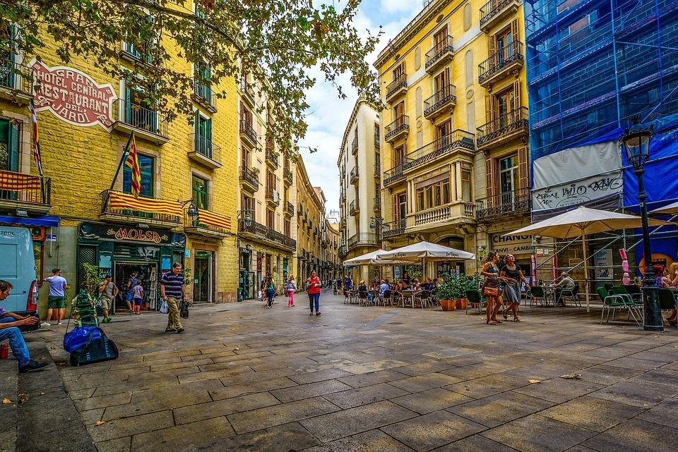 Free Photo Barcelona Street Spain Morning Free Image On Pixabay 1912717