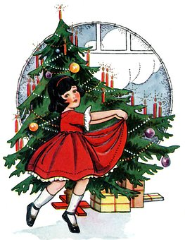Christmas, Child, Pinheiro