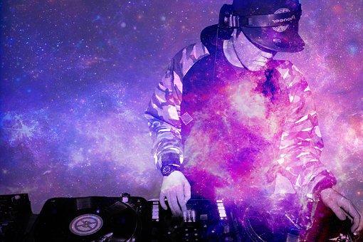 Hiphop, Dj, Skivspelare, Musik, Höft