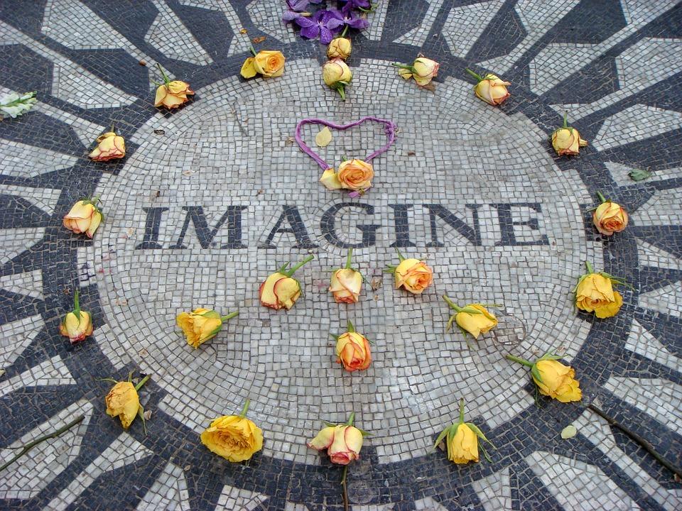 Imaginar, John Lennon, La Ciudad De Nueva York