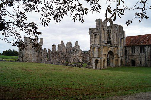 Castle Acre Priory, Church, Abbey, Ruins