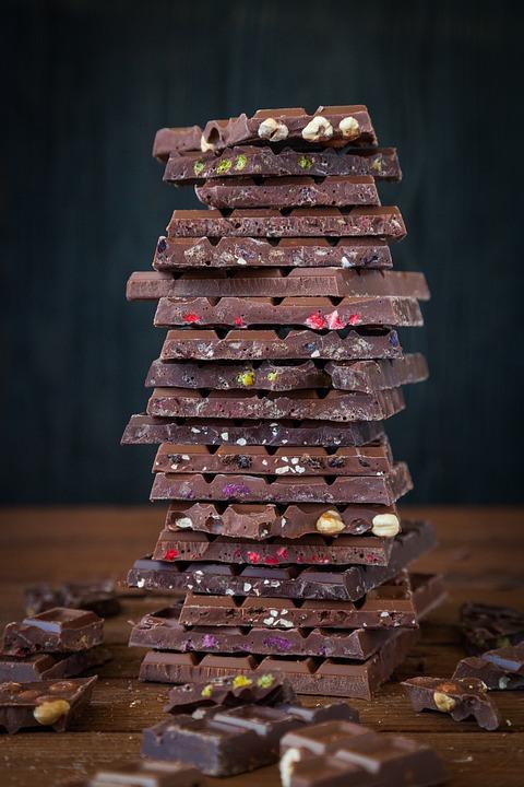 Schokolade, Hülle Und Fülle, Süßigkeiten, Candy, Essen