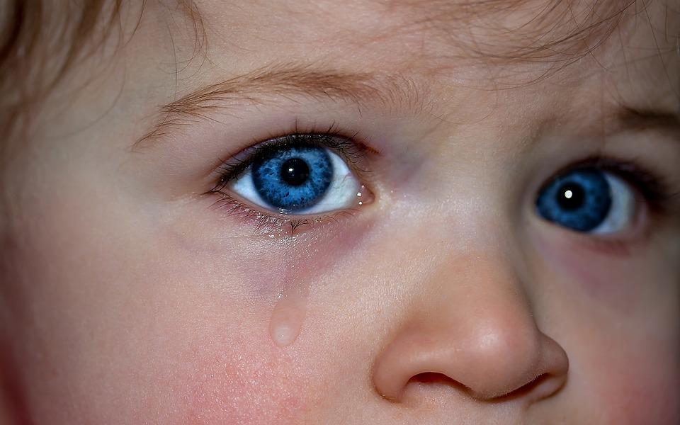 Kinderaugen, Augen, Blaue Augen, Emotion, Gefühle