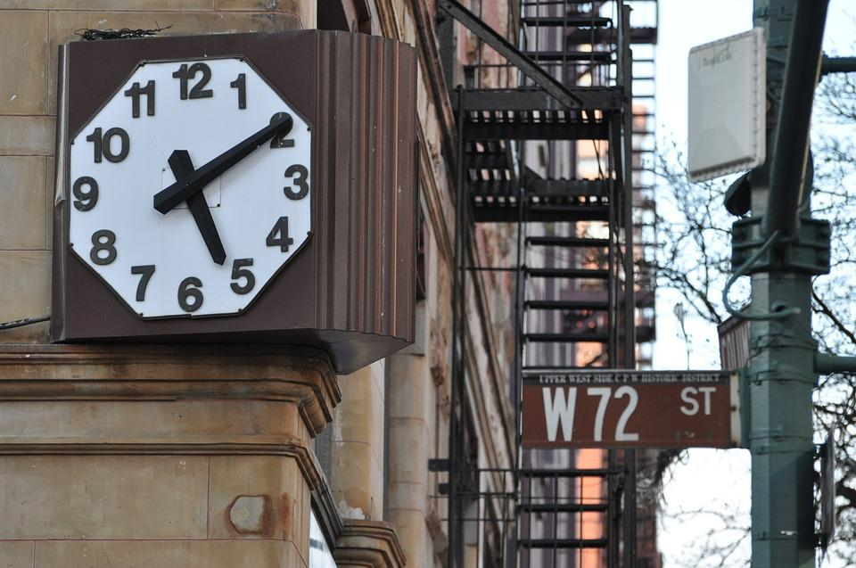 Pixabay Reloj En Foto Gratis Calle Nueva 72 York dorBWCxe