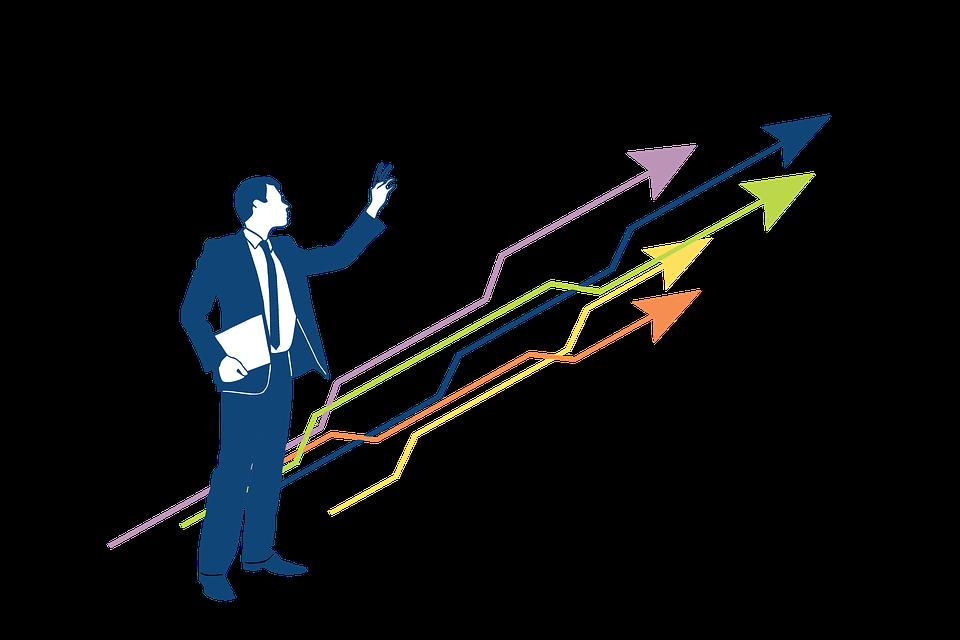 矢印, 成長ハッキング, マーケティング, 戦略, スタートアップ, 社会的なメディア, オンライン