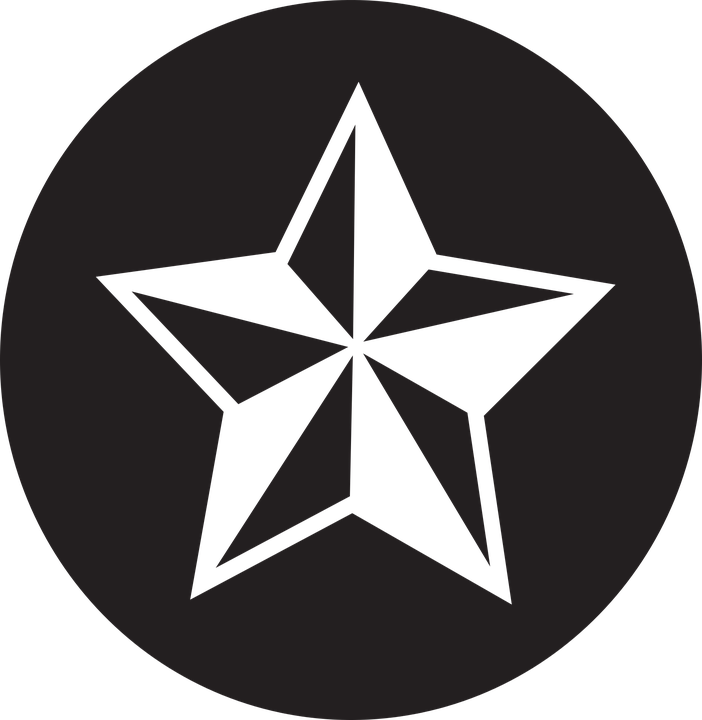 Bintang Ikon Datar Gambar Vektor Gratis Pixabay Logo