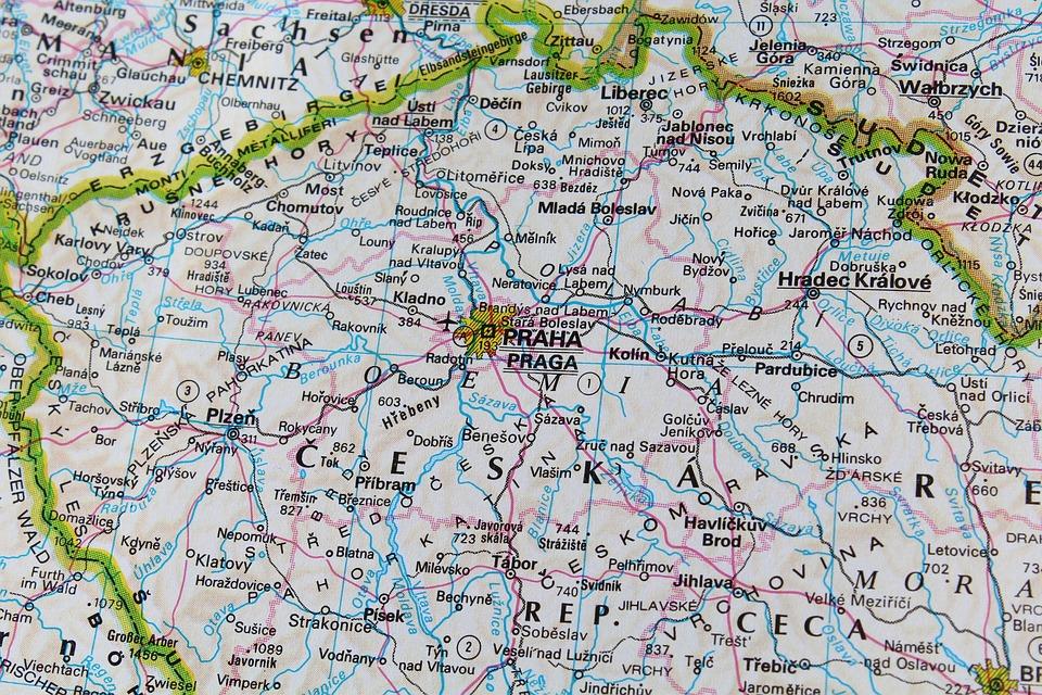 Prag Karte Tschechien.Prag Tschechische Republik Karte Kostenloses Foto Auf Pixabay