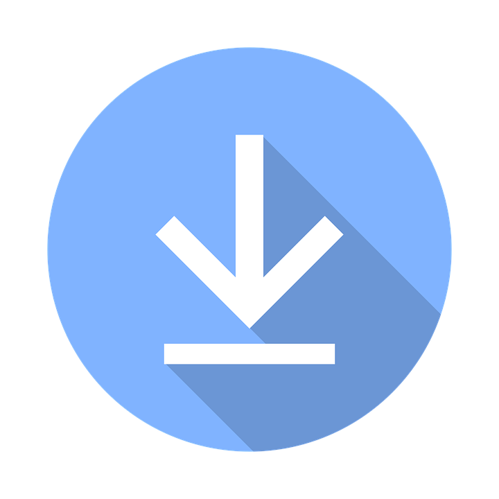Download Now Icon Button