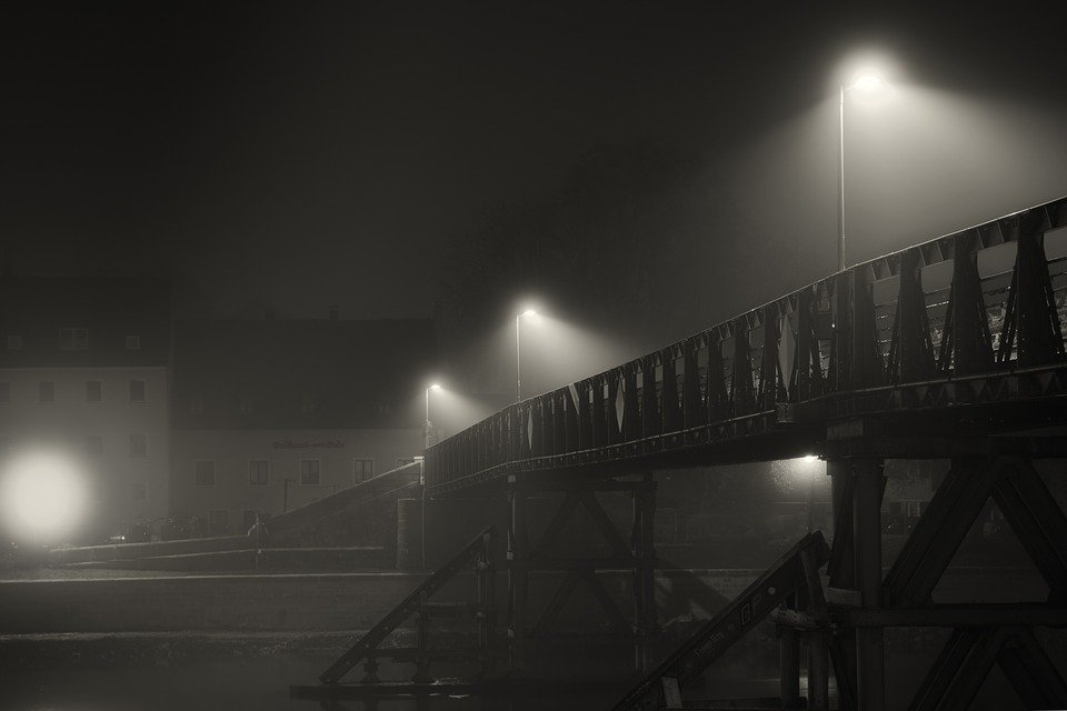 Fog Night Darkness - Free photo on Pixabay